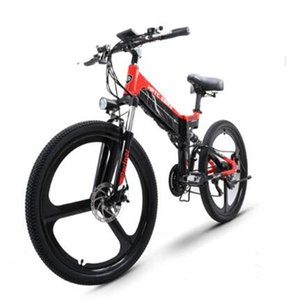 26inch pieghevole montagna bicicletta elettrica batteria al litio 48V 400W ad alta velocità ebike rimovibile Viaggi bicicletta elettrica assistita