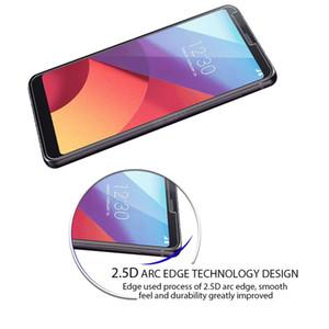 9H صلابة HD واضح قسط الزجاج المقسى حماة شاشة الفيلم لLG G7 Q7 V35 V30 K10