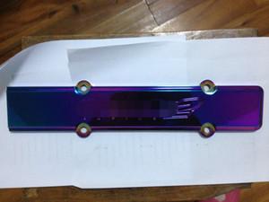 nuevo colorido chispa de aluminio cubierta del enchufe del ajuste B-Series Honda Civic B16 B18