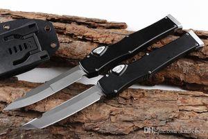 """Oferta especial Ja Ja Lo Vi lo 6 cuchillo táctico (4.4"""" Satin) Solo cuchillo acción de la hoja con cierre de seguridad supervivencia EDC Gear"""