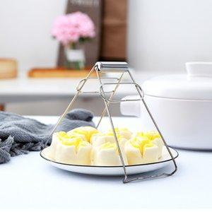 Acero inoxidable anti-caliente de la carpeta del hogar cuenco titular Take cuenco del disco Placa de dispositivos de elevación de la cazuela al vapor Clip de cocina de alta calidad