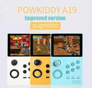 POWKIDDY A19 Pandoras Box Android supretro Handheld-Konsole IPS-Bildschirm 3000 speichern + Spiele 30 3D-Spiele WiFi herunterladen 1pcs