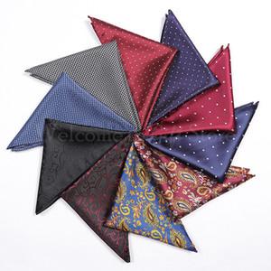 25*25 см мужской костюм рубашка карман полотенце квадратный шарф небольшой платок для украшения подарок бесплатная доставка HT005