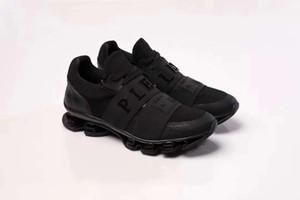 Мужская высококачественная кожа pp череп мужская повседневная обувь мужская спортивная обувь 0221