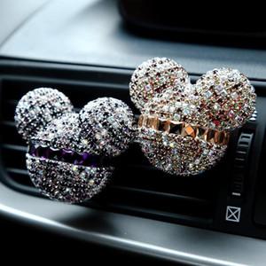 Crystal Car Perfume Fragrance 32styles диффузор освежитель воздуха эфирное масло Auto Vent Clip outlet кондиционер домашняя очистка воздуха AAA1616