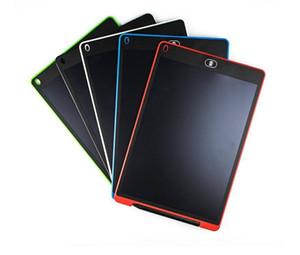 8.5 pulgadas LCD de la tableta de escritura a mano escritura Dibujo Digital Pad Junta de gráficos sin papel Bloc de notas de apoyo claro de la pantalla de función 5 colores