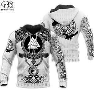 PLstar Cosmos Viking Warrior Tattoo New Fashion Tracksuit casual Colorful 3D Print Zipper Hoodie Sweatshirt Jacket Men Women s-9 Y200519