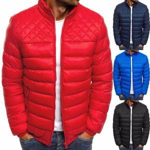 ZOGAA Men Winter Coat Men Clothes 2018 Bubble Coat Casual Streetwear 4 Colors Zipper Stand Puffer Jacket Plus Size3XL Parka Men