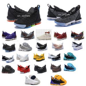 Zapatillas de baloncesto de igualdad para los hombres 16 zapatillas james ver el trono rey oreo new LeBron XVI SB EP 16 igualdad szie 40-46