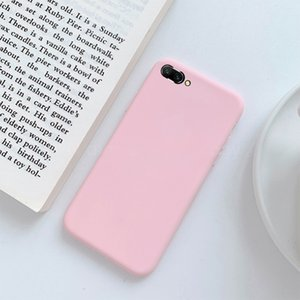 Candy Color Soft Silicon Case for Huawei P20 Pro P10 P9 P8 Lite 2020 Mate 10 honor 8 9 Lite P Smart Y9 Cell Phone Back Cover