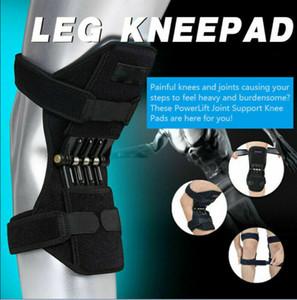 Elevador 1Pc Poder apoio conjunto Knee Brace Rebound Primavera Força Correndo Pad Knee