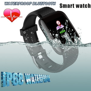 116 Plus Smart watch Bracelets 1.3 inch Fitness Tracker Heart Rate Step Counter Activity Monitor Band Wristband 115 M3 for iphone Android