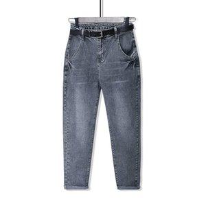Jeans For Women High Waist New Plus Size Full Length Loose Denim Mom Harem Pants