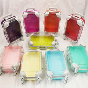 Багажные ресницы для багажа чемодан ресницы упаковочные коробки 3D норковые ресницы коробка ложные ресничные корпус норковые ресницы пакет ресничных коробок подарки упаковки