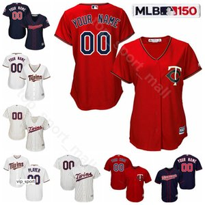 Bay Çocuk Kadınlar Beyzbol 26 Max Kepler Formalar 20 Eddie Rosario CJ Cron Marwin Gonzalez Harmon Killebrew Kirby Puckett Willians Astudillo