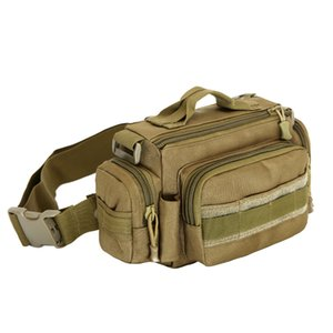 Tactical Outdoor Waterproof Nylon Waist packs men women military Camouflage Chest bag fanny pack riding hunting Photography bags