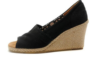 Avrupa ve Amerika'da 4 Renkler Ücretsiz Kargo NO15646 Hot Satış-Tom Yüksek Topuklar Yaz Ayakkabı Sıcak Satış