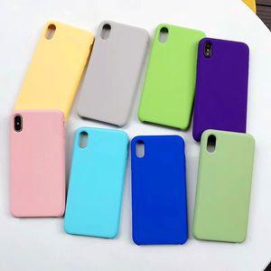 Оригинальный Официальный силиконовый чехол для iphonePhone 11 Pro Max 7 8 Plus чехол для Apple IPhone SE X XS Max XR 5 5S 6 6S Plus Обложка