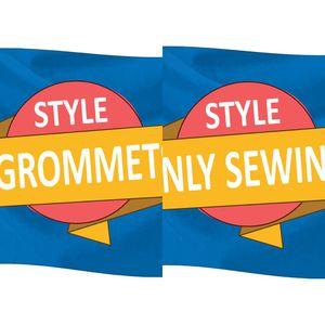 Bandeira personalizada ou banner 3x5ft 150x90cm 100d Polyester Banner publicidade ao ar livre Indoor Ny Design Algum Tamanho quaisquer imagens