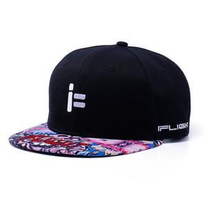 Ifligh Flügel Hip Hop-Hut im Freien Baseballmütze FPV durch Maschine-Wettbewerb College Style Brim Hat