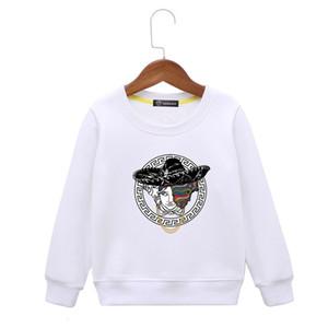crianças hoodies Roupa coreana Edição Crianças camisola dos desenhos animados solta Brasão roupas infantis Jacket Primavera e Outono Cotton Pure