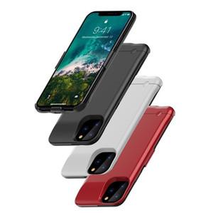 Para iPhone 11 Pro Max 6200 Mah caso bateria de backup recarregável Caso Carregador estendida Telefone Portátil Com pacote de varejo DHL FEDEX gratuito