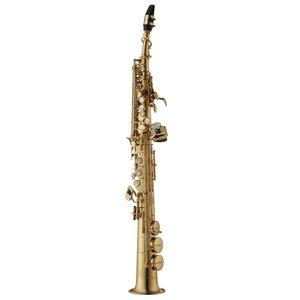 Янагисава W010 New Soprano B Flat Саксофон Brass Gold Lacquer Музыкальный инструмент Сакс Бесплатная доставка с Case рупором Аксессуары