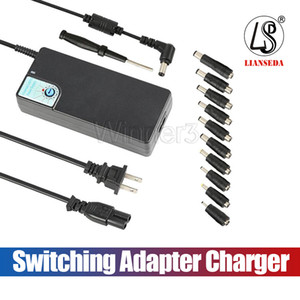 Versão atualizada SP26 120 W Universal Laptop Fonte de Alimentação 12-24 V Comutação Adaptador de Carregador com USB 5 V / 2.4A para a Maioria Das Notebook marca