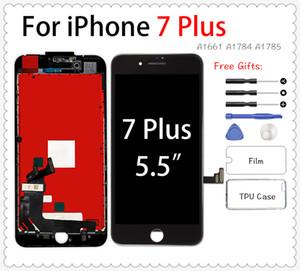 iPhone 6 8 Ölü Pixel için iPhone 7 Artı Ecran 3D Dokunmatik Ekran Sayısallaştırıcı Meclisi İçin Cep Telefonu Pantalla LCD Değiştirme +++
