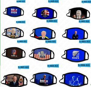 Máscaras lavables Joe Biden 3D impreso EE.UU. elección presidencial 2020 de la mascarilla máscaras para adultos niños transpirable a prueba de polvo de protección D62905