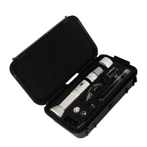 o melhor dispositivo de vaporizador erva seca de cera de alta qualidade kit principal DAB Kanboro eCube com visor LED