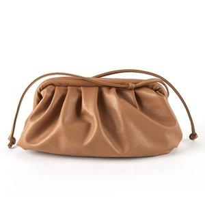 Cloud Bag For Women bags Soft Leather Madame Single Shoulder Slant Dumpling Handbag Clutches Messenger