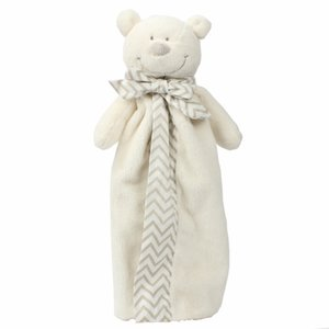 Creative Pacifying and Sleeping Doll Baby Saliva Towel Soft Cub Can Bite Baby Pacifying Towel At The Entrance