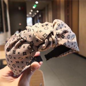Stirnband Gril Blumenstern Hairband Frauen Retro Stirnband Bögen Querknoten Weitseitige Haarband 6 Styles Haar-Zusätze DHL