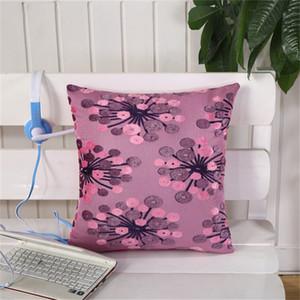 43x43cm Flower Pattern Soft Plush Sofa Cushion Cover Throw Pillowcase Home Decor Wedding Party Decor