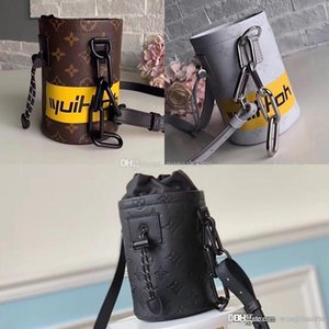 Chalk Nano bags M44631 Outdoor sports climbing bags M44628 Shoulder bag canvas Messenger Bag leather CrossBody bag1 with box