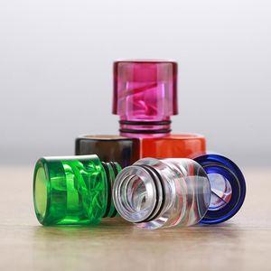 Colorful 810 spirale Drip Tip TFV8 Drip Tips per TFV12 Big Baby atomizzatori E Sigaretta Airflow Bocchino Vapes Tank DHL Free