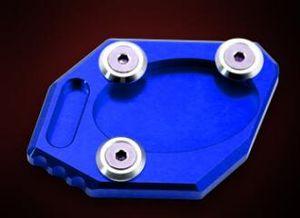 Banc de moto Side Plate support approprié pour 300NINJA250Z250ER-6NER-6F Bleu