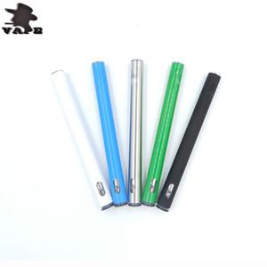 New Slim Disposable Starter Kits Vape pen Cartridges 280mah battery Glass Tank 0.3ml Ceramic Coil Thick Oil Atomizer e cigarette DHL free