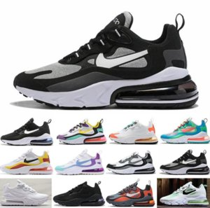 Top 270 Triple Black White Rainbow 270S Running Shoes KPU Men Women Training Outdoor Sports CNY Bright Violet Gold Sneakers Size 36-45