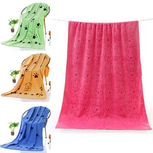 140*70cm Large Microfiber Strong Absorbing Water Bath Pet Drying Towel Cleaning Wipes Magic Fast Dry Pet Towel Pet Accessories