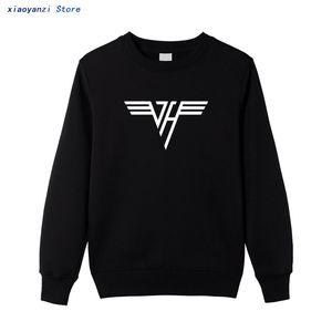 2020 Rock Band Men Women Fashion Halen Solid Color Printed Streetwear Sports Casual sweatshirts pullovers Cotton hoodies