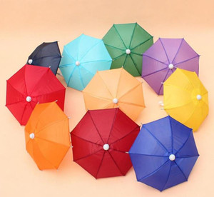 Mini Simulation Regenschirm für Kinder Spielzeug Cartoon Viele Farbe Regenschirme dekorative Fotografie Props Tragbare SN346
