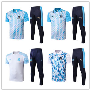 20 21 marseille men polo shirt Ocampos short sleeves tracksuits football jersey Thauvin training suit Germain clothes soccer tshirt kits