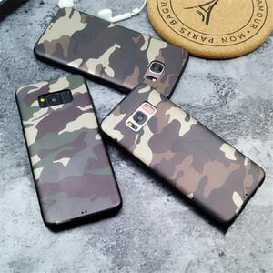 Handyhülle für Samsung Galaxy S9 S8 Plus Note 8 9 S10 Army Camo Camouflage Weiche TPU-Schutzhüllen Capa Funda Coque
