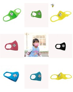 Sponge Kinder Maske mit Ventil Waschbar Wiederverwendbare Facemask High Fashion Gesichtsmaske Anti Pollution-Antistaub-Einzelpaket Schnelle Lieferung