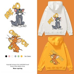 ILyhl Cat and kid-size girls hooded mounted 2020 boy's athletic family matching Cat andsweat kid-size girls hooded mounted 2020 boy's sweats