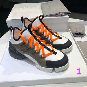 Luxury spring summer designer Men and women casual shoes fashion flowers sports Men and women shoes running printing lace thick bottom lux
