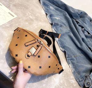 bolsos de luxo designer de moda 2018 mulheres saco da cintura no peito Cadeia Couro Bolsas Super Qualidade Bloco de Fanny cintura perna Bags