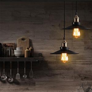 Pendente industriale Retro Luce penant lampada Nordic Ferro paralume Loft Edison hangLamp Sala da pranzo della lampada soggiorno
